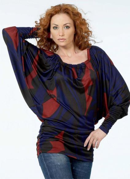 блузы из трикотажа - Выкройки одежды для детей и взрослых.